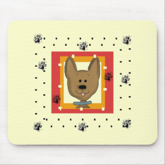 Little Brown Doggie Tshirts and Gifts Mouse Pad