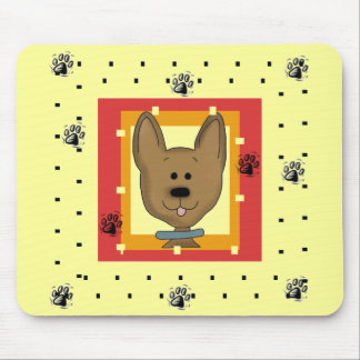 Little Brown Doggie Tshirts and Gifts Mousepads