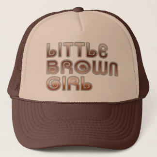 Little Brown Girl Hat