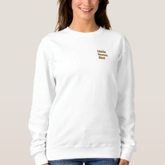 Little Brown Girl long sleeve sweatshirt