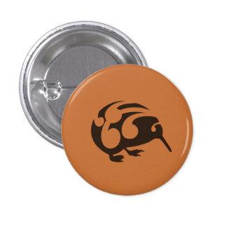 Little Brown KIWI badge 1 Inch Round Button