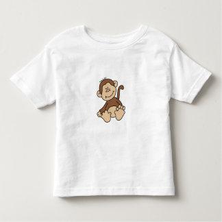 Little Brown Monkey Tee Shirt
