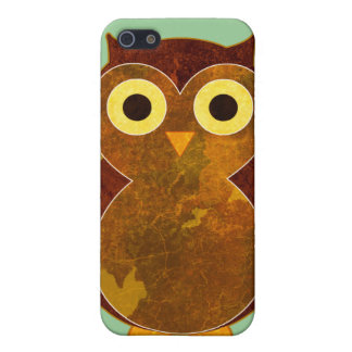 Little Brown Owl iPhone SE/5/5s Case