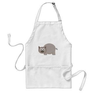Little Brown Pig Apron