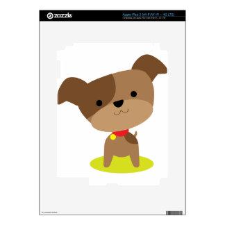 little brown pup iPad 3 decals
