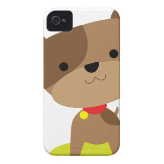 little brown pup iPhone 4 Case-Mate case