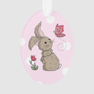 Little Brown Spring Bunny