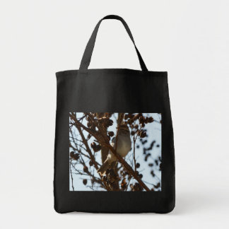 Little Brown Thrasher Tote Bag