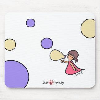 Little Bubbles Girl Mousepad