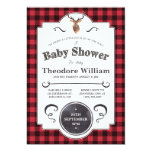 Little Buck – Woodland Baby Shower Invitation