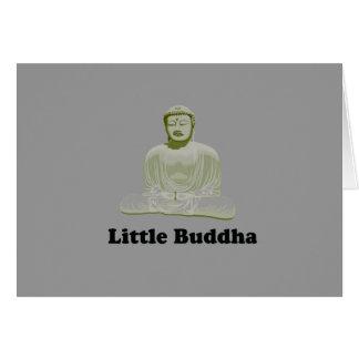 Little Buddha baby t-shirt Greeting Card