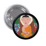 Little Buddha Button