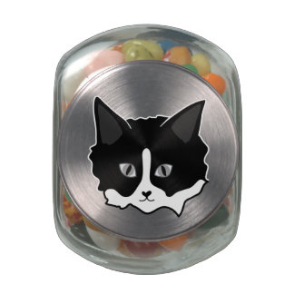 Little Buddy ~ Kitty Face Jelly Belly Candy Jar