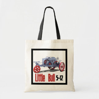 Little Bull Tractor Tote Bag