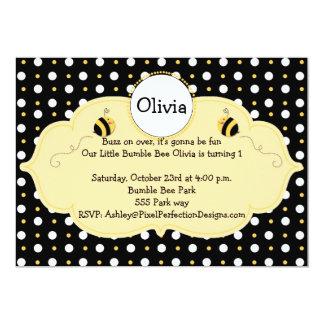 Little Bumble Bee Invite