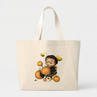 Little-Bumble-Boy Jumbo Tote Bag