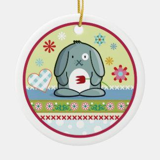 Little Bunny Christmas Ornaments