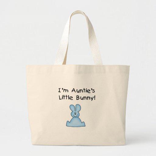 Little Bunny Tshirts y regalos de tía azul Bolsa Tela Grande
