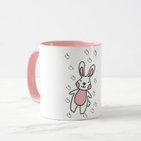 Little Bunny White Coffee Mug