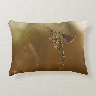 Little Butterfly at Sunset Accent Pillow