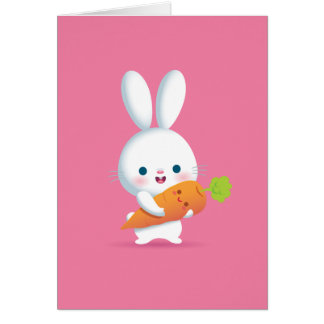 Little Buuny Notecard Stationery Note Card