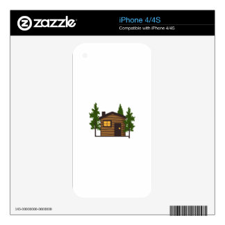 Little Cabin iPhone 4 Decal