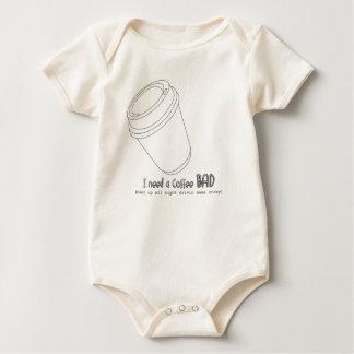 little caffeine addict baby bodysuit