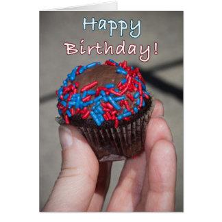 Little Cake Happy Birthday Card