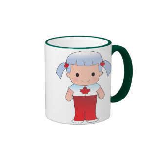 Little Canadian Girl Mugs