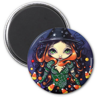 """""""Little Candy Witch"""" Magnet"""