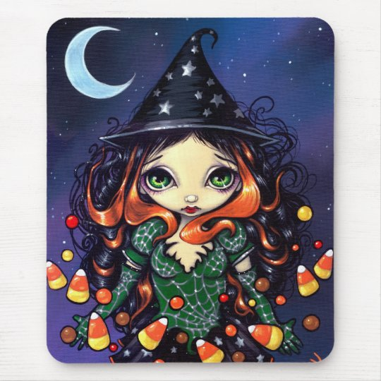 """Little Candy Witch"" Mousepad"