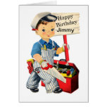 carpenter, child, birthday, personalize, toolbox,