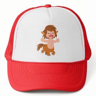 Little Cartoon Centaur Hat hat