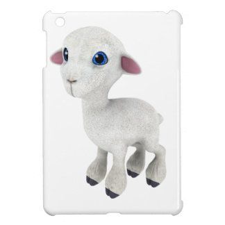 Little Cartoon Lamb iPad Mini Cover