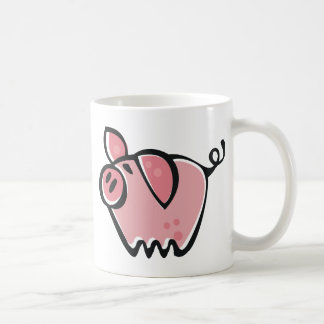 Little cartoon Pink Piggie Coffee Mug