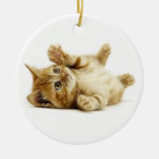 LITTLE CAT CERAMIC ORNAMENT