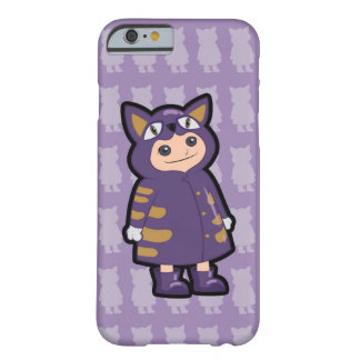 Little Cat Rain Coat Barely There iPhone 6 Case