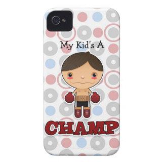Little Champ - Blackberry Bold Case- Boy iPhone 4 Case-Mate Case
