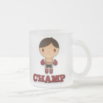 Little Champ - Frosted Mug - Boy