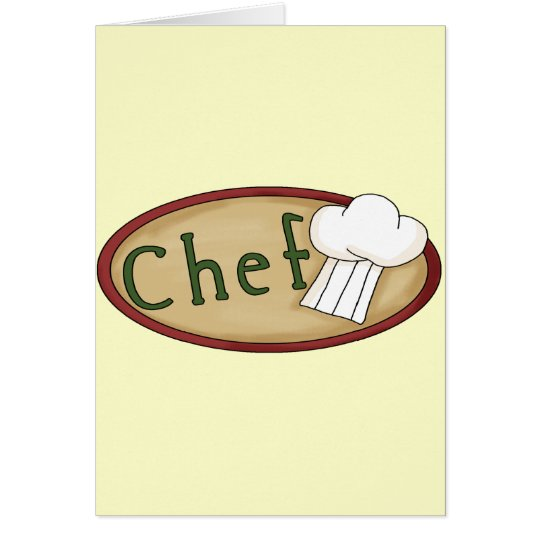 Little Chef Card