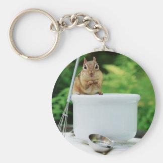 Little Chef Chipmunk Keychain