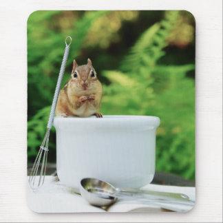Little Chef chipmunk Mouse Pad