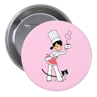Little Chef Illustration on Pin