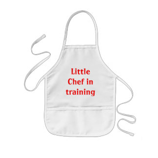 Little Chef in Training Kids' Apron