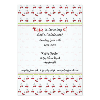 Little Cherries Invitation