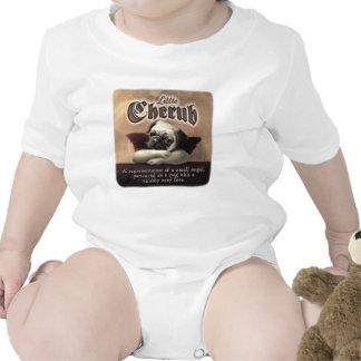 Little Cherub designs for Pug Lovers Bodysuits