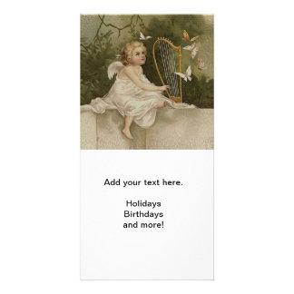 Little Cherub Smiling Card