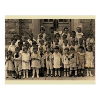 Little Cherubs of the Sunday School Class Postcard