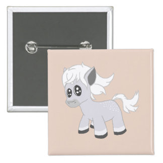 Little Chibi Ponies #2 Button