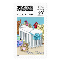 Little Chick Baby Shower Postage